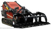 "48"" Bradco Brush Grapple for Bobcat MT50-52 Mini Skid Steers"