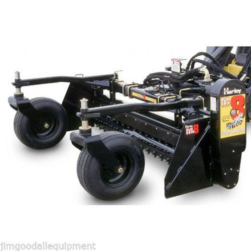 Categories - 8' Harley Power Landscape Rake, Manual Angle, Standard Hydraulics