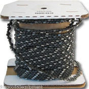 Chain Saw Chain, 100 Ft Roll, 325 Pitch, 063 Gauge, Fits Mid Size Stihls Saws