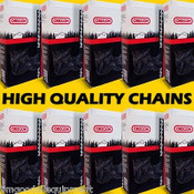 """10 Pack of 20"""" Oregon Full Chisel Chain, 3/8"""" Pitch, 058 Gauge, 72 Drive Links, Fits Husky"""