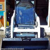Bobcat Vinyl Front Door, Door Only, Fits G Series 751, 753, 763, 773, 863, 873