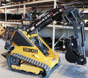 Backhoe Attachment for Mini Skid Steers,w/Swing,Digs 5',Fits Boxer.Prowler,SeeAd