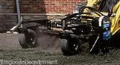 Mini Skid Steer Landscape Rake by Harley Rake,Hydraulic Angle, Free Shipping