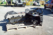 "Cat Skid Steer Trencher 625,Digs 36"" Deep,6"" Wide,2 Position,Brand New Bradco"