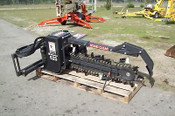 "Trencher Attachment for Skid Steers, Bradco 79"" Long, Digs 42"" X 6"" Shark Teeth"