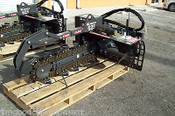 "Bradco 625 Skid Steer Trencher, 36"" Depth, 6"" Width, 50/50 Rock-Frost Teeth"