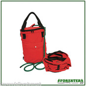 """Arborist Collapsible Rope Bag, Stores up to 150' of 1/2"""" Climbing Rope,Free Ship"""