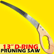 "Professional 13"" Pruning Saw with D-Ring Handle made of SK5 Steel. Only $19.95"