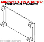 Universal Hitch Weld On Adapter Fit All Universal Mini Attachments, Fits all