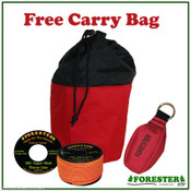 Tree Climbers Throw Line Kit,166' Throw Line, 15 Oz Throw Bag, Free Carry Bag