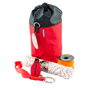 Arborist Throw Line Kit,166'Line,Throw Bag,Carry Bag,Saw Strap,50' Sash Rope