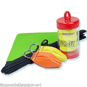 Deluxe Throw Line Kit for Arborist, Cube, 10oz & 12oz Throw Bags, 180' Zing it 2.2mm