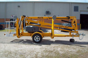 Bil Jax 4527A Towable Boom Lift, 51' Work Height, 27' Outreach, 4200 Lbs