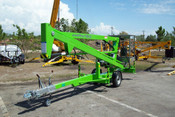 Nifty TM34M 40 Ft Towable Boom Lift, Honda Power, Brand New 2020