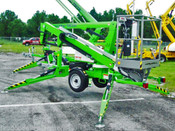 Nifty TM34T Telescopic Boom Lift, 40' Working Height, Battery Powered