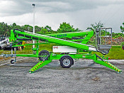 Nifty TM50 Towable Lift, Dual Power, 56' Work Height, 28' Outreach