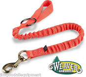 "Bungee Chain Saw Lanyard,With Ring & bronze 225 snap is 4-1/4""long,Bright Orange"