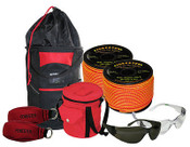 Throw Line Kit w/Two Rope Bags,2 Throw Lines,2 Throw Bags,Glasses, $100 Value