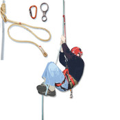 Climbing Rope Secured Foot Lock Kit for Ascending & Desending,Fits Your Own Rope