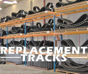 "Bobcat T630/T650 Track Loader Replacement Track Set,Wide 18"",4 Locations In USA"