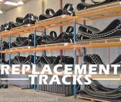 Kubota KX 121-3 Replacement Tracks 350X54.5X86,Set of 2,Multi Locations