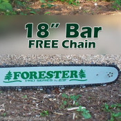 """18"""" For Bar w/Free Chain,Fits Stihl 024,026,028,029,MS260,MS290,325 Pitch 74Link"""