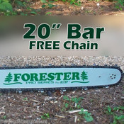 """20"""" For Bar w/Free Chain,024,026,028,029,325 Pitch,63 Gauge 81 Link, Fits Stihl"""