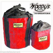 """Arborist Climbing Rope Storage Bag 11.5"""" High,Color Red,Keeps Rope Clean,(One)"""