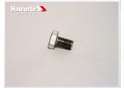 Biljax Haulotte Screw-HHCS-M10-1.5Pitch x 16mm-Aluminum-Hex Head Part #0096-0132