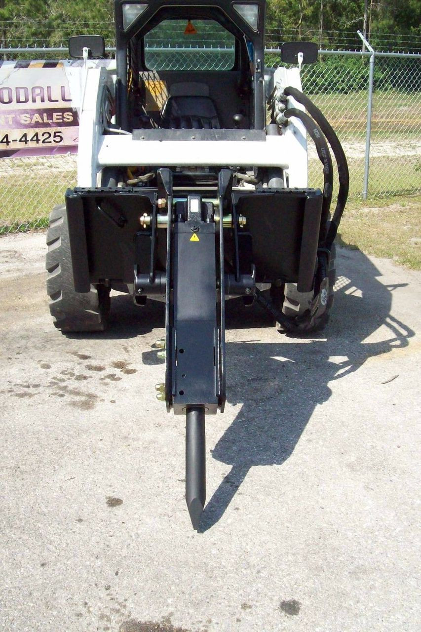 Skid Steer Hydraulic Hammer Breaker 680 Lbs Impact,Only Two Moving Parts  Paladin