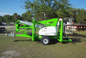 "Nifty TM42T Towable Boom Lift 48'6"" Work Height, Honda Gas, Great For Tree Care"