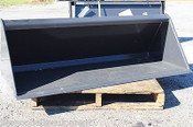 "48"" Mini Skid Steer Bucket Fits ALL Brands 6 CU FT,Ditch Witch,Vermeer,Dingo"