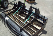 "Skid Steer 78"" Landscape Sculptor,Fits All Skid Steers, w/Comber & Scarifier"