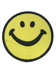Smiley Face Patch (2.5 x 2.5 Inches)