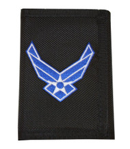 United States Air Force Wings Logo Nylon  Wallet