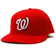 Washington Nationals Home Performance New Era Official On-Field Fitted Cap