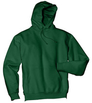 Jerzees Adult Double-Lined Hooded Pullover, Forest Green, XX-Large