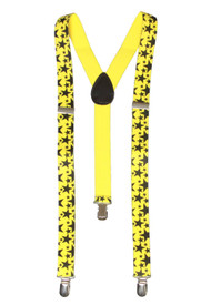 Star 3 Clip Stretchable Suspenders