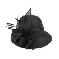 Chic Headwear Flapper Fancy Flax Fabric Small Hat