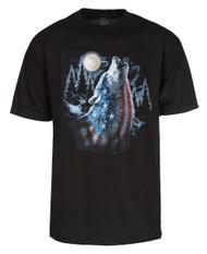Men's USA Wolf Short-Sleeve T-Shirt