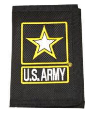 United States Army Star Nylon Hook & Loop Wallet