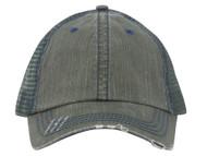 Low Profile Special Cotton Mesh Cap-Dk. Green