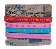 C&D Visionary Wonder Woman/Superman Rubber Wristband