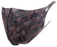 Top Headwear Reusable Fabric Fashion Face Dust Mask, Fractal Camo