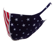 Top Headwear Reusable Fabric Fashion Face Dust Mask, USA Flag