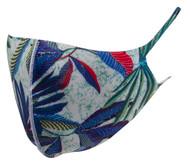 Top Headwear Reusable Fabric Fashion Face Dust Mask - Blue Print