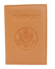 Passport Credit Card Genuine Leather Holder - (3 Different Colors)