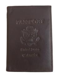 Passport Credit Card Genuine Leather Holder