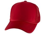 Top Headwear Rope Trucker Foam Mesh Hat