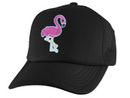 Gravity Threads Pink Flamingo Adjustable Trucker Hat